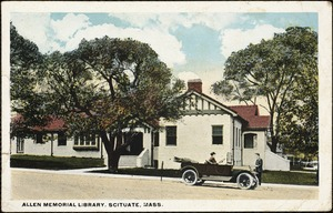 Allen Memorial Library. Scituate, Mass.