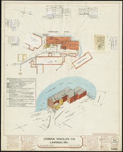 Cowan Woolen Co., Lewiston, Me. [insurance map]