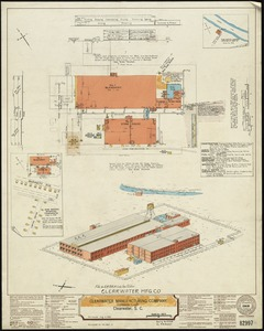 Clearwater Manufacturing Company (Finishing Plant), Clearwater, S.C. [insurance map]