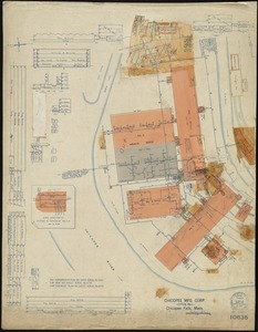 Chicopee Mfg. Corp. (Cotton Mill), Chicopee Falls, Mass. [insurance map]
