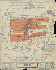 Hathaway Manufacturing Company (Cotton & Rayon Cloth), New Bedford, Mass. [insurance map]