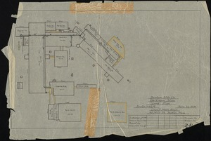 Boston Mfg. Co., Waltham, Mass. Yard Plan [insurance map]