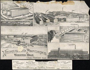 National and Providence Worsted Mills, Chas. Fletcher Pres't.