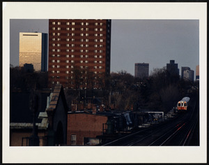 The view from Egleston Station