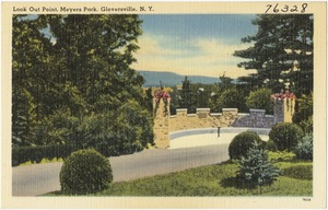 Look Out Point, Meyers Park, Gloversville, N. Y.