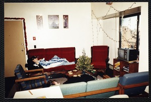 Town house living room, 1994