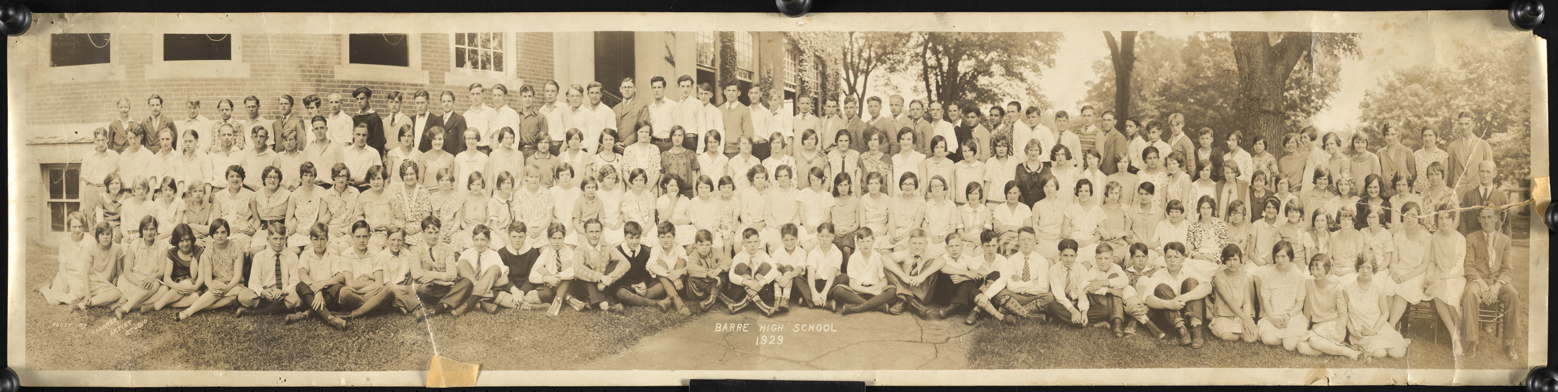 Barre High School 1929