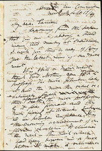 Letter from James Miller M'Kim, New York, [New York], to William Lloyd Garrison, [18]67 Sept[ember] 13