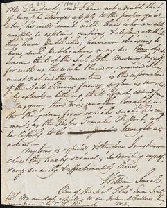 Letter from William Smeal to William Lloyd Garrison, [1841]