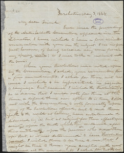 Letter from Increase S. Smith, Dorchester, [Boston, Massachusetts], to William Lloyd Garrison, 1848 May 3
