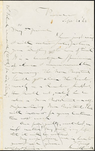 Letter from Gerrit Smith, Peterboro, [New York], to William Lloyd Garrison, [18]62 Sept[ember] 20