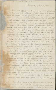 Letter from Lewis Tappan, New York, [New York], to William Lloyd Garrison, 1835 Feb[ruary] 5th