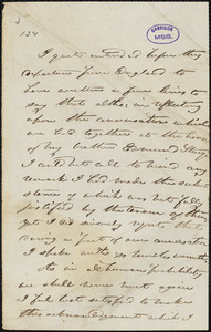 Letter from Joseph Sturge, Birmingham, [England], to William Lloyd Garrison, 1846 [December 3]