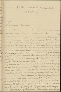 Letter from S. Alfred Steinthal, Manchester, [England], to William Lloyd Garrison, 1864 October 15th