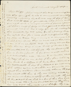 Letter from William P. Weeks, South Berwick, [Maine], to Amos Augustus Phelps, 1829 Jan[uar]y 3