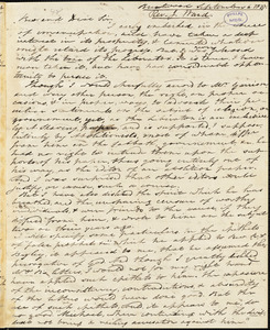 Letter from Jonathan Ward, Brentwood, [New Hampshire], to Amos Augustus Phelps, 1837 September 6