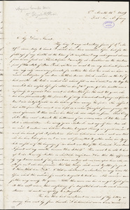Letter from Angelina Emily Grimkè, Fort Lee, to Elizabeth Pease Nichol, 1839 [August] 14