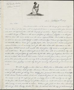 Letter from Angelina Emily Grimkè, Boston, [Massachusetts], to Queen of Great Britain, Victoria, 1837 [October] 26