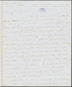 Letter from Henry Wigham, Edinburgh, [Scotland], to William Lloyd Garrison, 1850 [July] 16