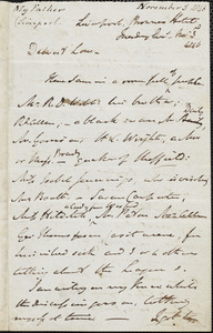 Letter from John Bishop Estlin, Liverpool, [England], to Mary Anne Estlin, 1846 November 3
