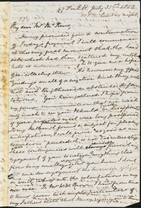 Letter from Mary Anne Estlin, Bristol, [England], to James Miller M'Kim, 1853 July 31.