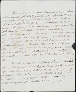 Letter from Johnn Bishop Estlin, Bristol, [England], to Richard Davis Webb, 1845 November 5