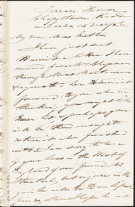 Letter from Joseph Lupton, Leeds, [England], to Mary Anne Estlin, 1856 Dec[ember] 14
