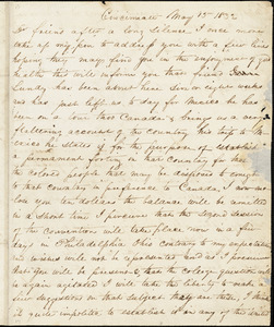 Letter from George Cary, Cincinnati, [Ohio], to William Lloyd Garrison, 1832 May 15