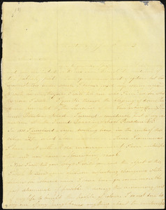 Letter from Prudence Crandall, Canterbury, [Connecticut], to William Lloyd Garrison, 1833 Jan[uary] 18th