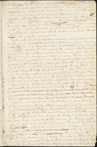 Letter from Beriah Green, Western Reserve College, [Hudson, Ohio], to William Lloyd Garrison, [1833 March 8]