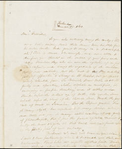 Letter from James F. Otis, Portland, [Maine] , to William Lloyd Garrison, 1833 March 19