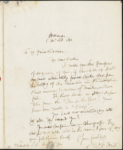 Letter from James F. Otis, Portland, [Maine], to William Lloyd Garrison, 1833 Nov[ember] 23