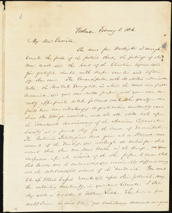 Letter from James F. Otis, Portland, [Maine], to William Lloyd Garrison, 1834 February 8