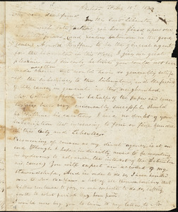 Letter from Joseph Cassey, Philad[elphi]a, [Pennsylvania], to William Lloyd Garrison and Isaac Knapp, 1834 Feb[ruar]y 15th