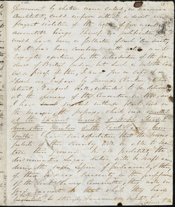 Letter from George Thompson, 1844? December 11