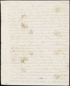 Letter from Richard Ball to William Lloyd Garrison, 1833 [June] 19