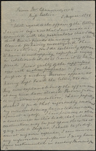 Letter from Louis Alexis Chamerovzow to Mary Anne Estlin, 1854 August 5th