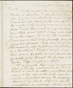 Letter from Charles Whipple, Newburyport, [Massachusetts], to William Lloyd Garrison, 1835 June 12