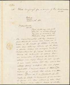Letter from James F. Otis, Portland, Maine, to William Lloyd Garrison, 1835 September 5th
