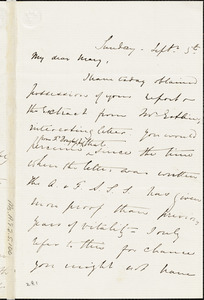 Letter from Harriet Lupton, Headingley, [England], to Mary Anne Estlin