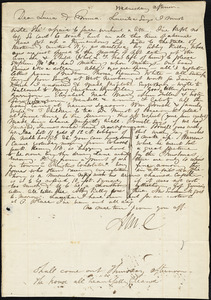 Letter from Maria Weston Chapman to Lucia Weston and Emma Forbes Weston