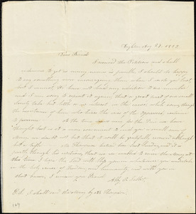 Letter from Abby R. Talbot, Dighton, [Massachusetts], to Maria Weston Chapan, 1839 Aug[ust] 29