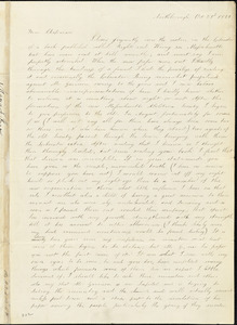 Letter from Maria F. Price, Northborough, [Massachusetts], to Maria Weston Chapman, 1839 Oct[ober] 23
