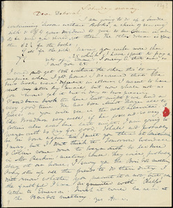 Letter from Anne Warren Weston to Deborah Weston, [1839]