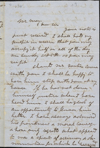 Letter from Samuel Fulton Clarke, Athol, [Massachusetts], to Samuel May, 1851 Sept[ember] 27