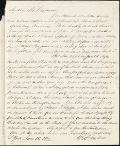 Letter from James C. Jackson, [New York], to Maria Weston Chapman, 1840 [September 17].