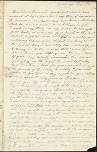 Letter from Experience Billings, Foxborough, [Massachusetts], to Maria Weston Chapman, 1840 August 31