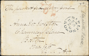 Letter from Elizabeth Pease Nichol, [Darlington, England], to Maria Weston Chapman, 1844 [January 27]