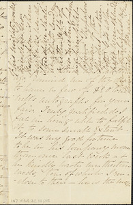 Letter from Elizabeth Pease Nichol to Maria Weston Chapman, [1840 September]