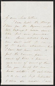 Letter from Fanny N. Tribe, [Portland St.] to Mary Anne Estlin